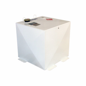Better Built HD Series 50 Gallon Square White Steel Transfer Tank