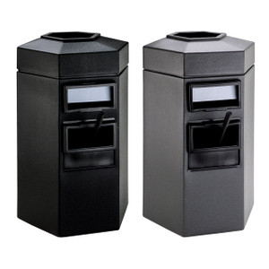 Commercial Zone 45 Gal Hex Waste/Windshield Units
