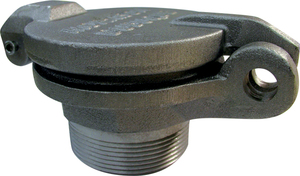 Morrison Bros. 179-M Series Aluminum Hinged Style Fill Caps - Male