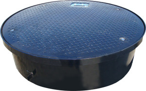 Franklin Fueling Systems FLEX-ING 38 in. Composite Manhole Lid, Ring & 10 in. Skirt