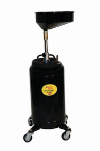 "JohnDow JDI-25HDC  25-Gallon  HD ""Self-Evacuating"" Oil Drain"