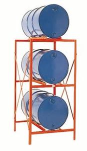 MECO 3 Drum Storage Rack