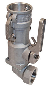 OPW 1700ESL 3 in. 90° Aluminum Kamvalok Couplers