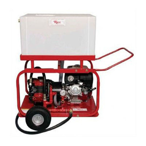 Rice Hydro DPH-8 Hydrostatic Test Diaphragm Pump with Wheel & Handle Kit and Pressure Feed Tank