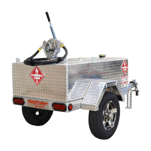 GasTrailer Contractor 110 Manual DOT Approved Portable Gas Trailer - Manual Pump