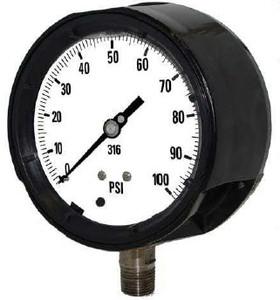 Kodiak 4 1/2 in. Dial Process Pressure Gauges
