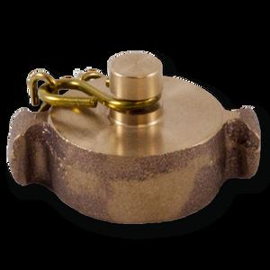 Dixon Powhatan Brass Cap & Chain - Rocker Lug