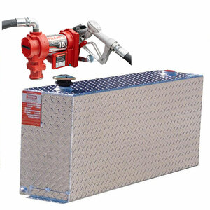 DOT Certified For Gas Or Diesel 38 Gallon Transfer Tank w/ Fill-Rite FR1210 Pump