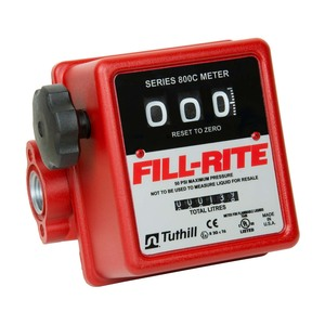 Fill-Rite 807CL Mechanical 3/4 in. Flow Meter - Liter Calibration, not Gallons