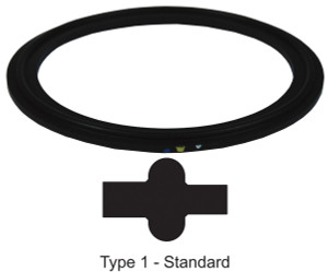 Dixon Sanitary Metal Detectable Viton Gaskets