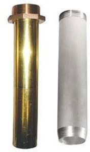 Aluminum & Brass Threaded Nozzle Spouts