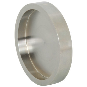 Dixon Sanitary 16AI-15I Series 304 Stainless Female I-Line Solid End Caps