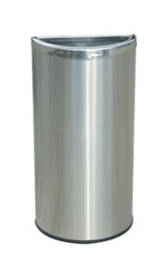 Commercial Zone Half Moon Waste Container