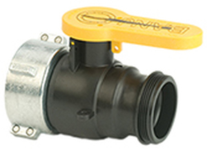 Banjo IBC Spin Weld Valves for Schutz - Schutz V20280 Spin Collar x 2 in. Male Adapter with Santoprene Gasket