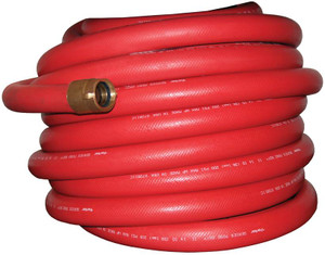 Dixon Powhatan 1 1/2 in. Non-Collapsible Fire and Utility Hose Red