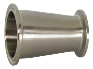 Dixon Sanitary B3114MP Series 304 Stainless Clamp Concentric Reducers
