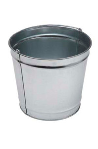 Commercial Zone Small Steel Pail for Smoker's Outpost