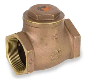 Smith Cooper Brass Swing Check Valves