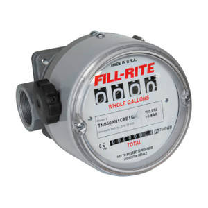 Fill-Rite TN860 1 1/2 in. NPT Aluminum Nutating Disk Meter (Gallons)