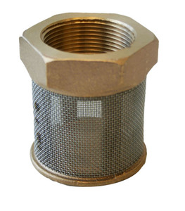 Morrison Bros. 157 Series 1 1/2 in. & 2 in. Brass Suction Pipe Strainers