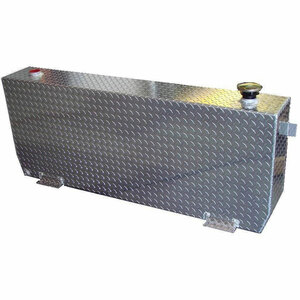 51 Gallon DOT Aluminum Rectangular Refueling Transfer Tank