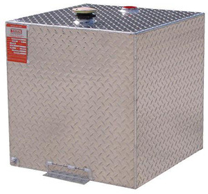 55 Gallon DOT Aluminum Square Refueling Transfer Tank