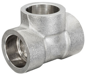 Smith Cooper 3000# Forged 316 Stainless Steel 1/8 in. Tee Fitting -Socket Weld