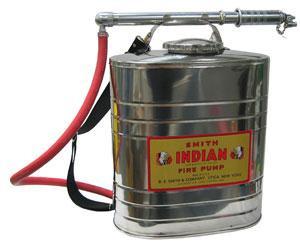Indian Fire Pump 5 Gallon Stainless Steel Fire Pump