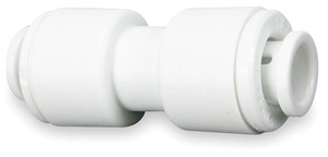 John Guest White Inch Acetal Fittings - Union Connectors