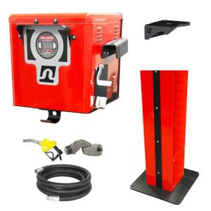Fill-Rite FR302DP Cabinet Dispenser w/ Digital Meter & Fuel Transfer Pump - 26 GPM
