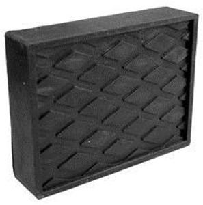 SVI Inc. 1 1/2 in. Black Rubber Block Adapter