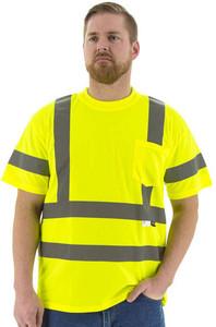 Majestic High Visibility ANSI 3 Mesh T-Shirts
