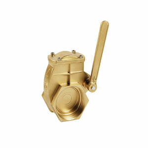 Metaltecnica MZ Brass Lever Quick Opening Gate Valves - NPT Threaded