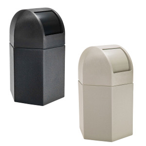 Commercial Zone 45 Gallon Container w/ Dome Lid