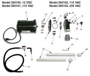 Graco Apex Oil Transfer Pump Parts