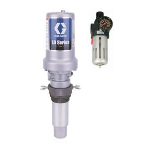 Graco LD Series 3:1 Air Powered Piston Oil Pump - 7.8 GPM Universal w/ Bung Adapter & FREE Filter Regulator