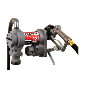 Fill-Rite SD1202H 12V DC Fuel Transfer Pump w/ Manual Nozzle - 13 GPM