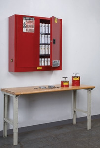 Justrite Sure-Grip Ex Wall Mount Cabinet for Aerosol Cans