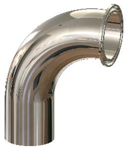 Dixon High Purity BioPharm Clamp x Weld Elbows