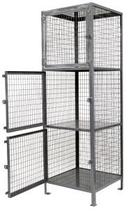 Vestil Lockable Mesh Storage Lockers