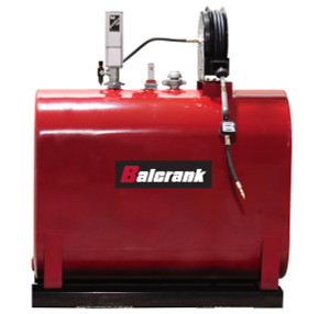 Balcrank 275 Gallon Horizontal Obround Tank, Pump & Hose Reel Package