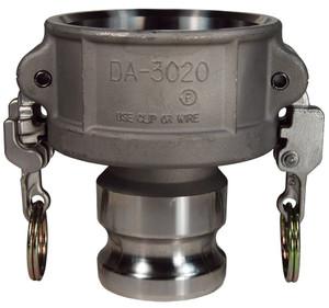 Dixon Stainless Steel EZ Boss-Lock Reducing Female Coupler x Male Adapter