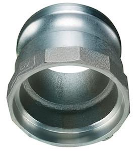 Kuriyama Aluminum Part A Male Adapter Socket Weld