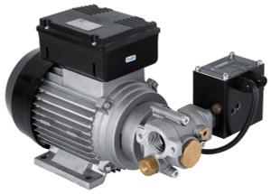 PIUSI Viscomat 350/2 120V Oil Pump with Flowmat - 2.4 GPM