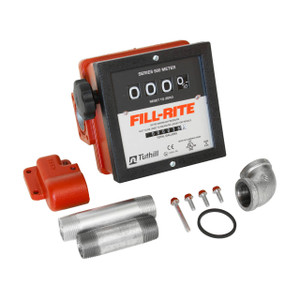Fill-Rite 901CMK4200 1 in. NPT Mechanical Meter Kit (Gallons)