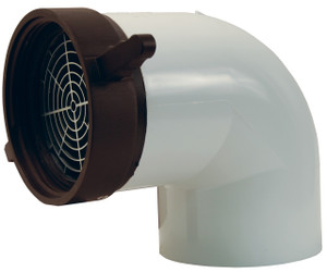 Female 90° Dry Hydrant Adapter
