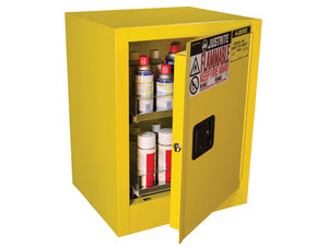 Justrite Aerosol Can Benchtop Safety Cabinet