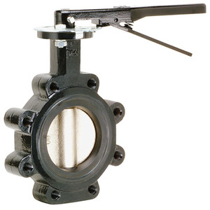 Matco Norca 200 PSI Cast Iron Butterfly Valves w/Buna-N Seals, SS Disc, Lug Style
