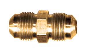 Gas-Flo Brass S.A.E. 45° Flare Union Coupling - Flare to Flare