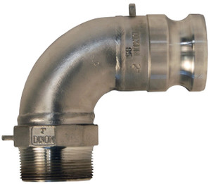 Dixon Stainless Steel Male Adapter x Male NPT 90° Elbows